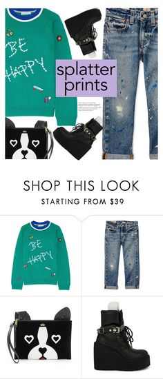"""""""simple"""" by ghdesigns-official ❤ liked on Polyvore featuring Mira Mikati, Juicy Couture, Puma and paintiton"""