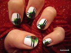 Traditional Holly Nail Art Tutorial