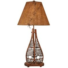 I pinned this Snow Shoes Table Lamp from the Coast Lamp event at Joss & Main!