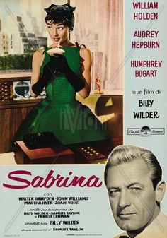 poster for Sabrina (1954)
