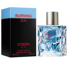 Burning Ice by Iceberg is the unexpected fusion of hot and cold, fire and ice, shapes and shadows. A dual identity of masculine strength and sensuality that embodies the true spirit of the new Iceberg man.