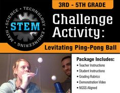 stem activity challenge cd hovercraft 3rd 5th grade activities stem activities and stems. Black Bedroom Furniture Sets. Home Design Ideas