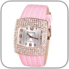 """🌸2XHP NWT Romantic Glitter Pink Rhinestone Watch 🎉🌸2X HP 3/21/16! Spring Trends Party""""! 3/15/16! """"Best in Jewelry And Accessories Party """"! This so girly! Perfect if you love pink! The first pic is the true color! Easy to read! I saw this and a had to buy it! It really is so so pretty! New in package! Chosen by @laurabethm please check out her fabulous closet! 🌸🎉🌸🎉🌸🎉🌸🎉🌸🌸🌸🌸🌸 Boutique Accessories Watches"""