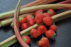 Billedresultat for jordbær rabarber