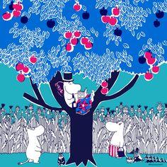 鈴木マサルが描く「ムーミン」のテキスタイル(29/30) - 写真特集 - Asahi Shimbun Digital[and]