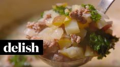 Zuppa Toscana Soup | Delish - YouTube