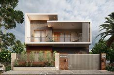 Modern Bungalow House Design, Best Modern House Design, Latest House Designs, Duplex House Design, House Front Design, Indian House Exterior Design, Modern Exterior House Designs, Modern House Facades, Small House Interior Design