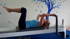 Pilates Reformer Ab Workout