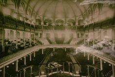 3/25/1861 CH Spurgeon preaches his first sermon in an unfinished Metropolitan Tabernacle.