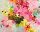 Abstract Painting, Oil Painting, Fine Art Print , Giclee Print , Wall Art , Wall Décor , Cloud Print 11x14 12x15 16x20 20x25
