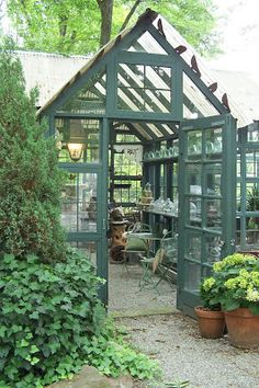 TARA DILLARD: Best Conservatory  using old/found items