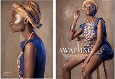 Black Beauty - Ihunna's styling with one of our Eki Orleans AW12 dresses