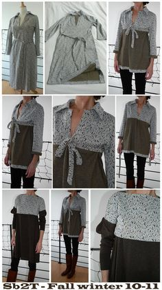 Website with lots of ideas how to combine clothes to make new ones.