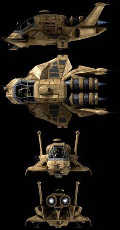 battlestar galactica ship designs