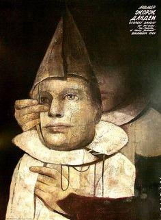 George Dandin, Moliere, Polish Theater Poster