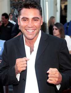 Oscar De La Hoya my favorite boxer.