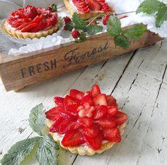 cucinama.com - Crostatine alle fragole
