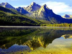 Stanley Idaho! Yay road trip to the Sawtooth Mountains next week!