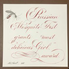 """211:""""Russian Mosquito Fest grants most delicious girl award"""" Very weirdly, as most of us humans are coming up with ways to get away from mosquitos this summer, they just held a Mosquito Festival in Russia. During the festival, a 9 year old girl walked through the woods and came out with 43 bites... Which made her the tastiest girl at the fest 😂. In 2013, the winner collected more than a hundred bites.  Other traditions include collecting the most insects in a jar, mosquito costume contest…"""