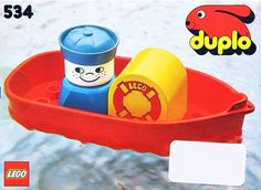 LEGO 534-1: Bath-Toy Boat | Brickset: LEGO set guide and database