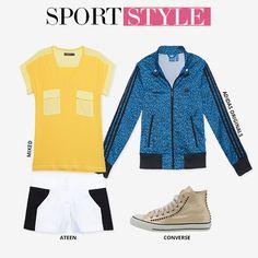 Compre moda com conteúdo, www.oqvestir.com.br #Fashion #Sport #Print #Shoes #AdidasOrignals #Mixed #Ateen #Converse #Summer #Shop