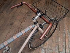 Leather Wrap Handlebars – Wood&Faulk