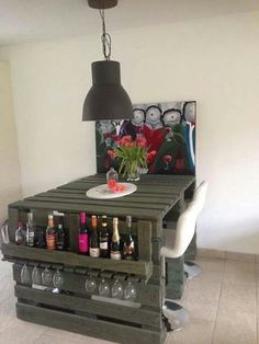 #pallets #decoración #mesa