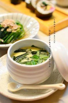 Fiber-Packed Wakame Chawan-Mushi (Steamed Egg Custard)