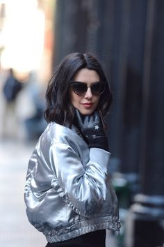 Wondering what's next for fashion? Bright metallics for winter!  #metallics #bomberjacket #stars #streetstyle #ShopStyle #ssCollective #MyShopStyle #ootd #fallfashion #mylook #lookoftheday #currentlywearing #todaysdetails #getthelook #wearitloveit #shopthelook