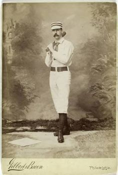vintage baseball photo ca. 1800's