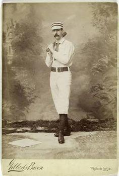 vintage baseball photo ca. 1800's