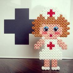 Nurse hama perler beads by tamatek
