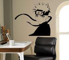 Naruto Ninja Wall Vinyl Decal Japanese Manga by USAmadeproducts