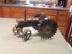 My tractor I made