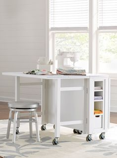 Martha Stewart Livingtm Craft Space Collapsible Craft Table