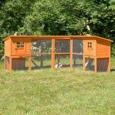 Kanikoppi ulkokäyttöön 440 cm, 349,95€. Tämä häkki tarjoaa lemmikillesi paljon tilaa kolmessa kerroksessa! Ylin kerros koostuu yhdestä suljetusa tilasta, jonka alapuolella on kahdet tikkaat. Niitä pitkin lemmikkisi voi kulkea vapaati tilavaan alakertaan. Ilmainen toimitus! #kanikoppi #kaninulkohäkki Chicken Home, Chicken Cages, Rabbit Cages, Bunny Cages, Hamsters, Homestead Layout, Quail Coop, Outdoor Rabbit Hutch, Tortoise Habitat