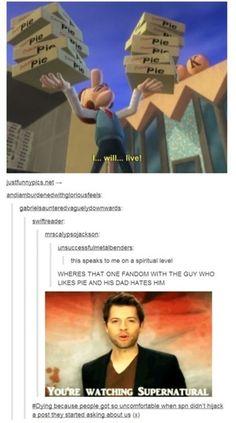 You're watching Supernatural...