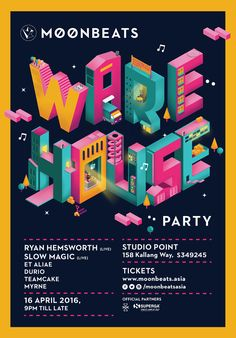 Moonbeats Warehouse PartySet in the industrial backdrop of Kallang, 16th April 2016, Moonbeats creates an authentic warehouse party series in Singapore, where electronic music lovers and punters will experience and enjoy an eclectic international and loc…