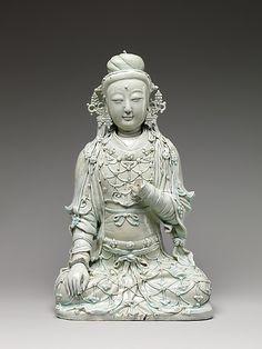 Seated Bodhisattva    Period:      Yuan dynasty (1271–1368)