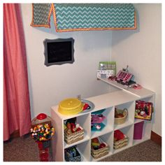 Diy play market - santa left this one for our little! Kids Play Store, Kids Play Area, Kids Room, Play Areas, Kids Grocery Store, Play Market, Home Daycare, Toy Rooms, Deck Furniture