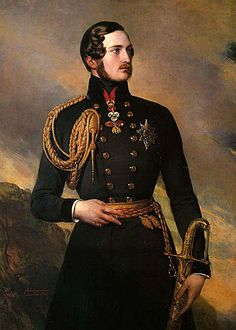 Prince Albert of Saxe-Coburg and Gotha at age wearing the Golden Fleece. Painted by Franz Xaver Winterhalter in See lovely engraving of Albert for sale in my shop. Franz Xaver Winterhalter, Queen Victoria Family, Queen Victoria Prince Albert, Victoria And Albert, Albert Prince Consort, Princesa Victoria, Reine Victoria, Otto Von Bismarck, Queen Of England