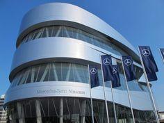 Mercedes Benz Museum, Stuttgart, Germany