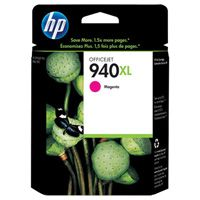 HP #940XL Magenta Ink Cartridge, C4908AN
