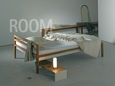 most simple and beautiful bed of all. design by atelier hebing