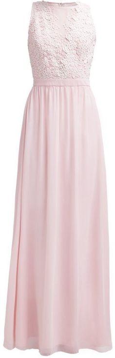 Pin for Later: 50 elegante, bodenlange Abendkleider unter 100 €  Chi Chi London Maxikleid in rosa mit Spitzenbesatz (80 €)