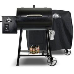 Pit Boss 340 Wood Pellet Grill with Cover and Spice Pack