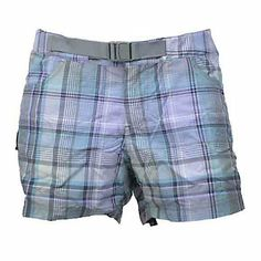 Columbia Cross On Over II Plaid Womens Shorts