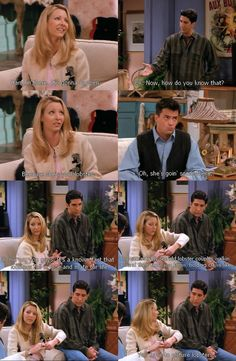 """""""See? He's her lobster""""....one of the best bits on Friends ever!"""