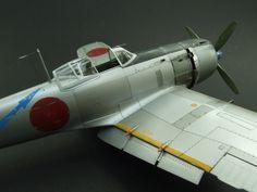 Very well crafted model: Nakajima KI-84 Hayate