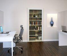 XENOS Poster: Bookshelf online te koop. Bestel je poster, je 3d filmposter of soortgelijk product Deurposter 2-delig